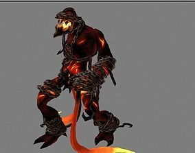 lava king 3D model