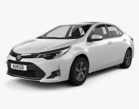3D model Toyota Corolla Levin CN-spec 2018
