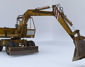 Excavator FAUN-fm1024 3D asset