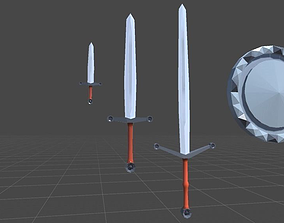 Sir Heralds Sword Collection 3D model
