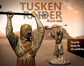 Tusker raider 3d print model