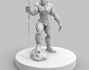 3D printable model KrolK The Alien SpaceMarine