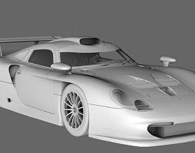 Porsche 911 GT1 1997 3D model