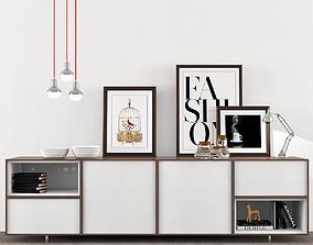 Moderno Muebles Auxiliares 3D