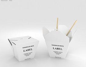 3D Noodles Box