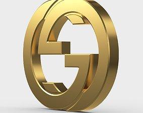 3D model gucci new logo