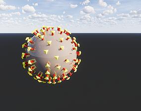 3D print model CORONA VIRUS