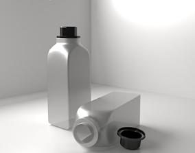 3D model Bottle food
