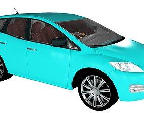 Mazda cx7 3D print model