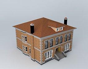 Urban Center Luxury Townhomes 3D model