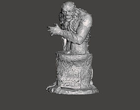 SWAMP THING BUST 3D printable model