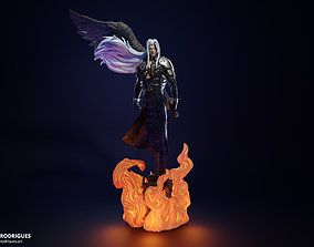 Sephiroth FF7 Remake with Wing 3D printable model