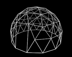 3D Geodesic dome design