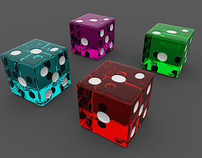 3D model Dice Role Playing