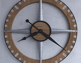 Wall clock Howard Miller 625-709 Buster Gallery Wall 3D 1
