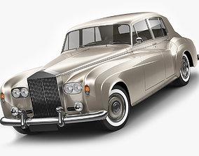 Classic Vintage Luxury Limousine 3D model