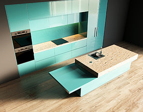49-Kitchen1 glossy 5 3D