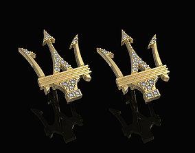 3D printable model Poseidon Earrings