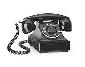 Western Electric 302 phone 3D model