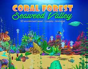 3D model Coral Forest - Seaweed Valley