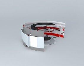 3D Nerit News Studio Design