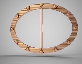 3D printable model Wavy Arrow Belt Buckle
