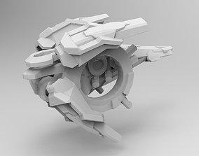 Dv9 for SciFi printable ships