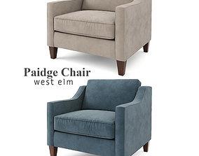 3D West Elm - Paidge Chair