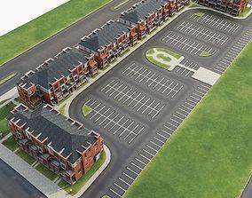 3D model Apartment Complex