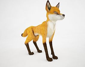 A sly fox 3D model