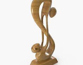 3D wooden figure of infinity