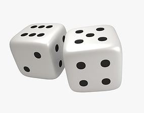 3D model Dice cubes