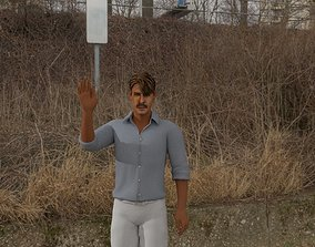 3D Ajay Devgan Digital Double Basic and Fully Textured