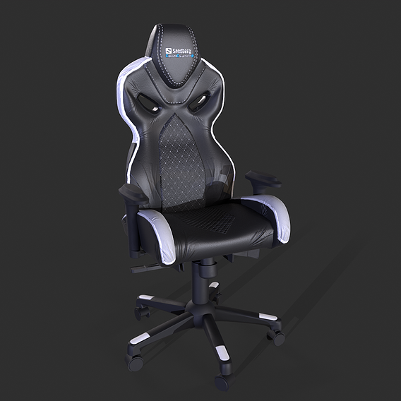 Gaming Chair 3D modeling and Texturing