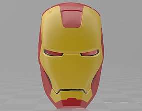 3D printable model Iron Man Mark 3 MK3 Helmet Cosplay