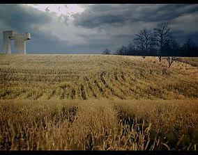 Chillida Praise The Horizon Third - Seventh 3D animated 1