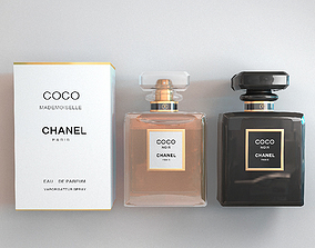 3D model COCO CHANEL MADEMOISELLE PERFUME