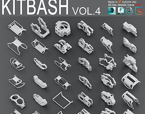 Hard Surface KitBash Volume 4 3D model