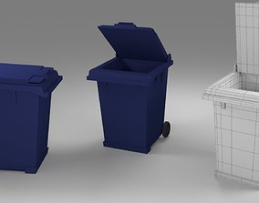 Trash can 3D printable model