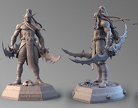 Illidan Stormrage Fan Art 3D print model