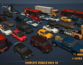 3D model Complete Vehicle Pack V2