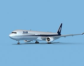 3D Boeing 767-400 ANA