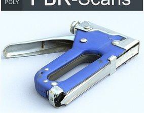 3D model Stapler Low Poly