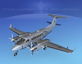 Beechcraft MC-12W Liberty V02 3D model