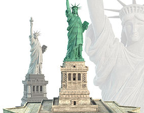 3D model staton Statue of Liberty