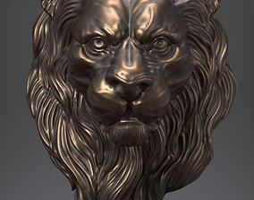 Lion Head nature 3D print model