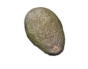 3D Half Avocado Scan