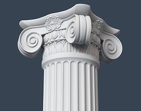 Ionic Column 004 3D