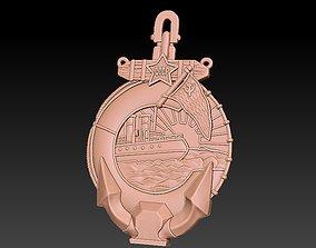 3D printable model Emblem Ship emblem