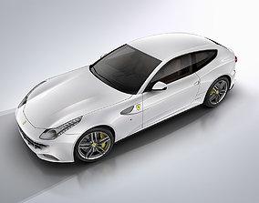 sportcar Ferrari FF 3D